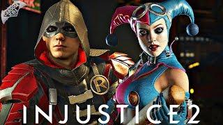 Injustice 2 Online - INSANE SPLIT SECOND WIN!