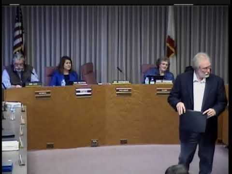 Torrance Unified School District Board Meeting - May 21, 2018