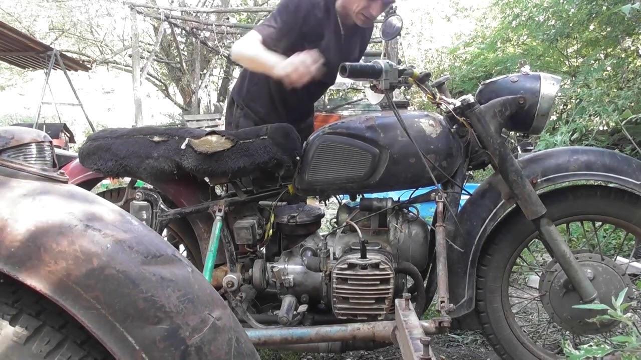 Восстановление мотоцикла К 750 с переборкой двигателя 3 Часть