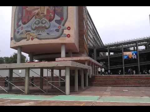 Explore Ciudad Universitaria of the UNAM (Part 1)