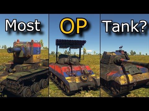 Top 5 OP Tanks in WarThunder