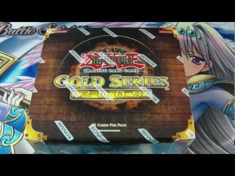 Best Yugioh 2009 Gold Series 2 Booster Box Opening Ever!