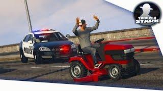 GTA 5 RP   SA'F #57   Lawnmower Pursuit!