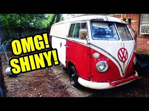 1967 VW Bus Gregory Gets a Bath! SHINY! - 3