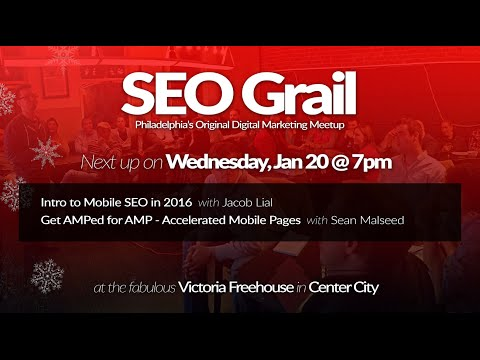 Get AMP'ed for Accelerated Mobile Pages - SEO Grail Philadelphia