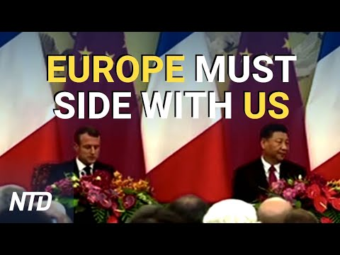 Europe Must Side With US Against China: Economic War Expert Says | NTD