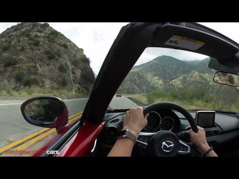 2016 Mazda MX-5 Drive shot with Olympus Air A01 with 8mm Fisheye