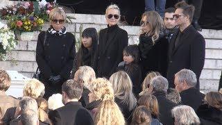 Obseques de Johnny Hallyday - Funeral Part 2
