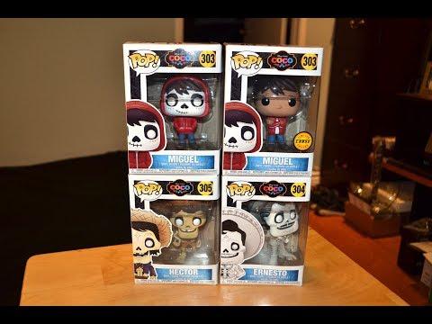 funko-pop-coco-figures!-chase-miguel,-hector,-&-ernesto!-pixar-collection-set!