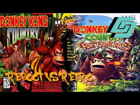 Reboot vs Retro - Donkey Kong Country vs Donkey Kong Country Returns