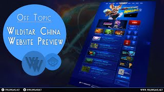 WildStar China - Website Preview