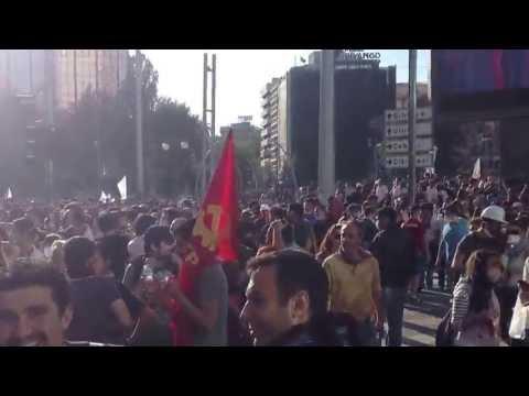 1 Haziran Ankara Gezi Parkı'na Destek Protestosu Görüntüleri