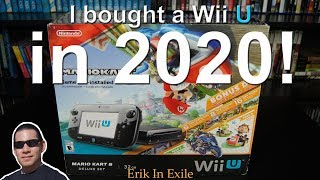 I bought a Wii U in 2020!