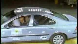 Volvo S60 crash test I.