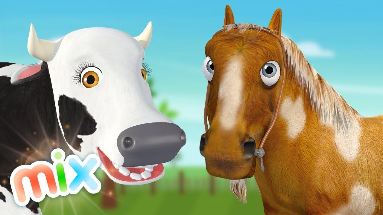 Percherón, La Vaca Lola y más animales de La Granja de Zenón | El Reino Infantil