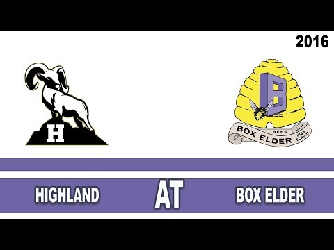 Girls Basketball: Highland at Box Elder High School Utah 2016