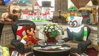 Super Mario Odyssey - All Stickers & Souvenirs
