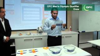 2012 OFC Olympics Qualifiers Draw