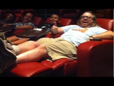 I think I found the most comfortable Movie Theatre in Las Vegas!!!
