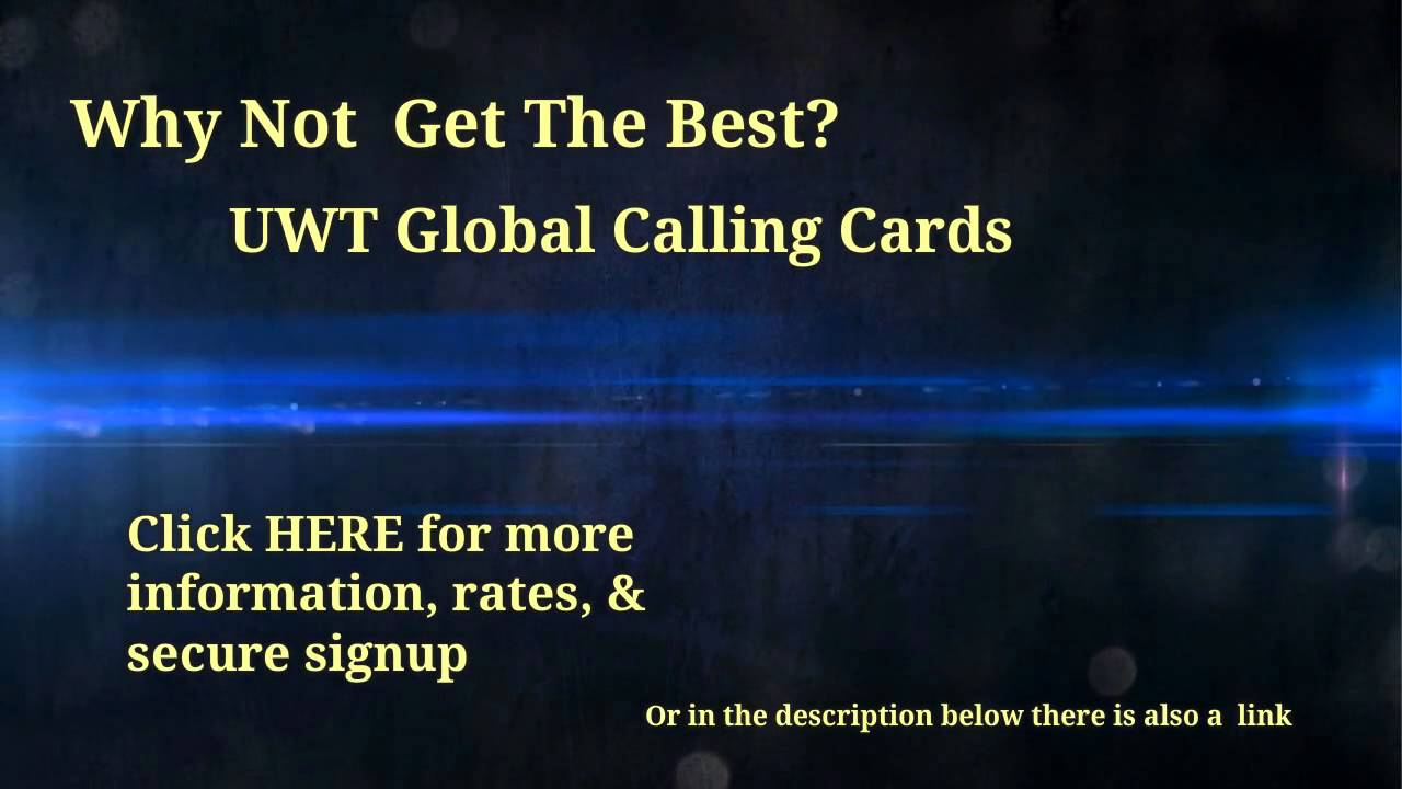 how to get the best international calling card - Best International Calling Cards