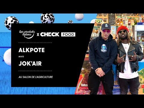 Alkpote & Jok'air #CheckFood