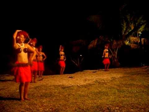 Danza Maori Aitutaki, Cook Island