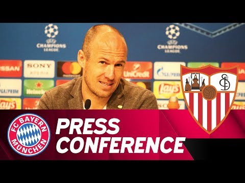 FC Bayern Press Conference w/ Heynckes & Robben | FC Bayern - FC Sevilla | ReLive