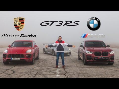 Porsche Macan Turbo vs BMW X4 M40i DRAG RACE + GT3RS BONUS!