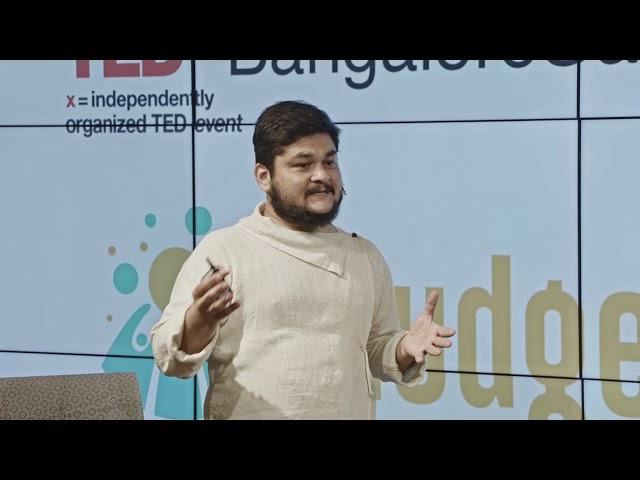 Designing Intentions, A Way Forward | Raahul Khadaliya | TEDxBangaloreSalon