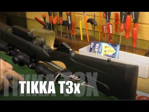 Tikka T3x Modular Stock /interchangeable pistol grips