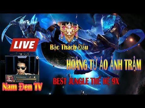 NAM ĐEN LIVE || Leo Top 1 chiến lực Murad, Nakroth