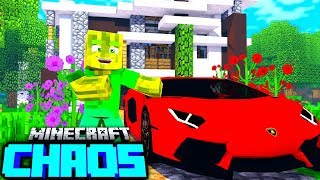 Mein 750.000€ LAMBORGHINI?! - Minecraft CHAOS #15 [Deutsch/HD]