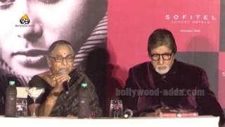 Amitabh Bachchan - Shabana Azmi - Launch Maithili Rao Book Smita Patil