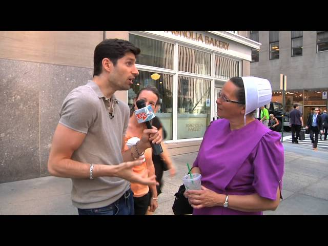 Ben Aaron Meets Amish Mary