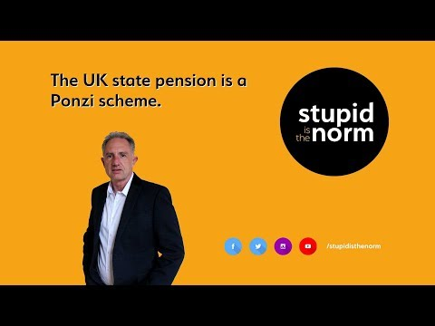 The UK state pension is a Ponzi scheme.