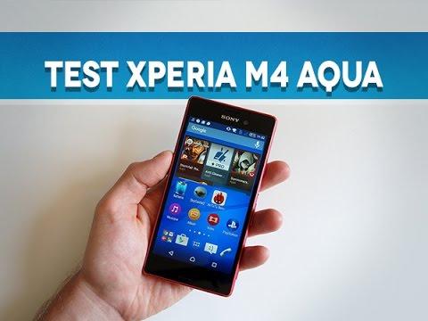 Test Sony Xperia M4 Aqua - Test Mobile