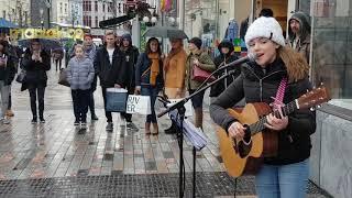 Video Jess Glynne-These Days Covered By Allie Sherlock (Irish Busker) download MP3, 3GP, MP4, WEBM, AVI, FLV Juni 2018