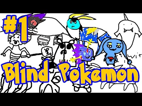 Full Stream - Blind Pokemon Drawings (Part 1)