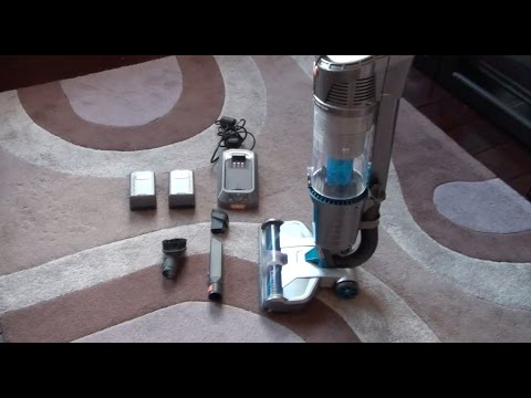 Vax Air Cordless (U86-AL-B) vacuum cleaner - Demo and Review