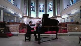 Hindemith: 1922, Op. 26 - V. Ragtime / Lance Mok