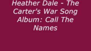 Watch Heather Dale The Carters War Song video