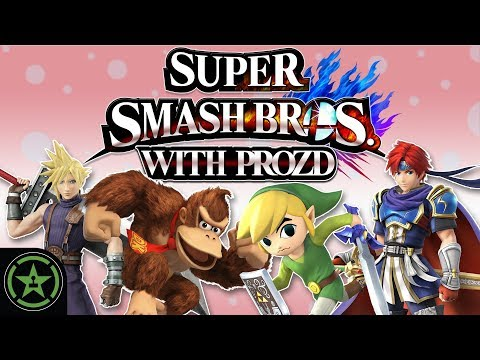 Let's Play - Super Smash Bros. with ProZD