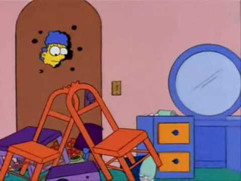 Los Simpson - El hombre del saco