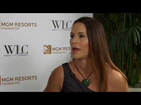 Jen Welter on Turning Passion to Greatness at Women's Leadership Conference 2017