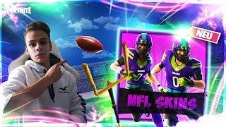 """NFL Skins im Shop!🔥   Turnier mit Preisgeld!💪   1 Sieg = """"SALTO""""⚡️  Live: Fortnite [Deutsch]🔴"""