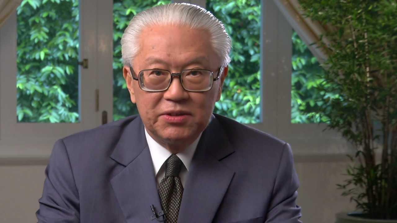 President Of Singapore Dr Tony Tan Keng Yam Youtube