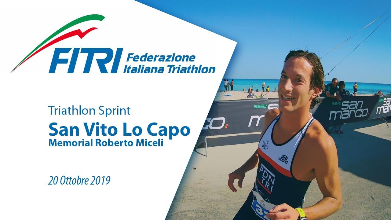 Triathlon Sprint San Vito Lo Capo Memorial Roberto Miceli 2019