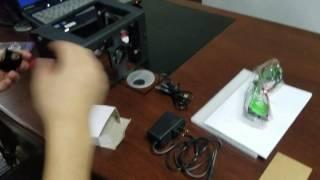 SuperCarver 500MW/1000MW Metal version Mini diy Laser Engraving Carving video demo