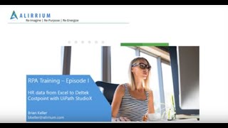 Welcome to our first training episode! in this video, we'll build a rpa bot together with uipath's new studiox automation development software. is fo...