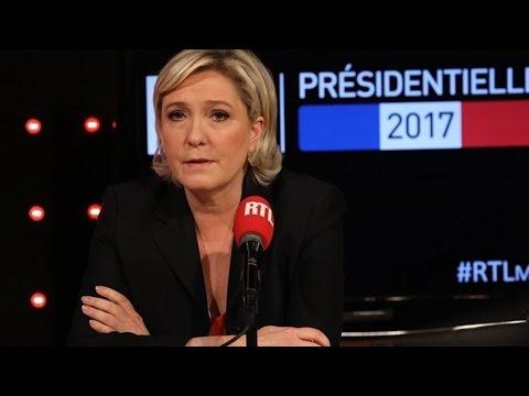 """Marine Le Pen a-t-elle """"édulcoré"""" ses propositions fortes ?"""